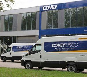 Covey destina hasta 15 M€ a la ampliación de su flota de vehículos