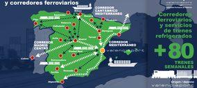 Valenciaport apuesta por el tren y estudia inversiones de 240 M€