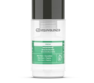 Equivalenza presenta su primer desodorante roll-on recargable