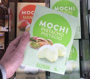 Mercadona amplía la gama de mochis helados, de los que ya vende 26.000 paquetes diarios