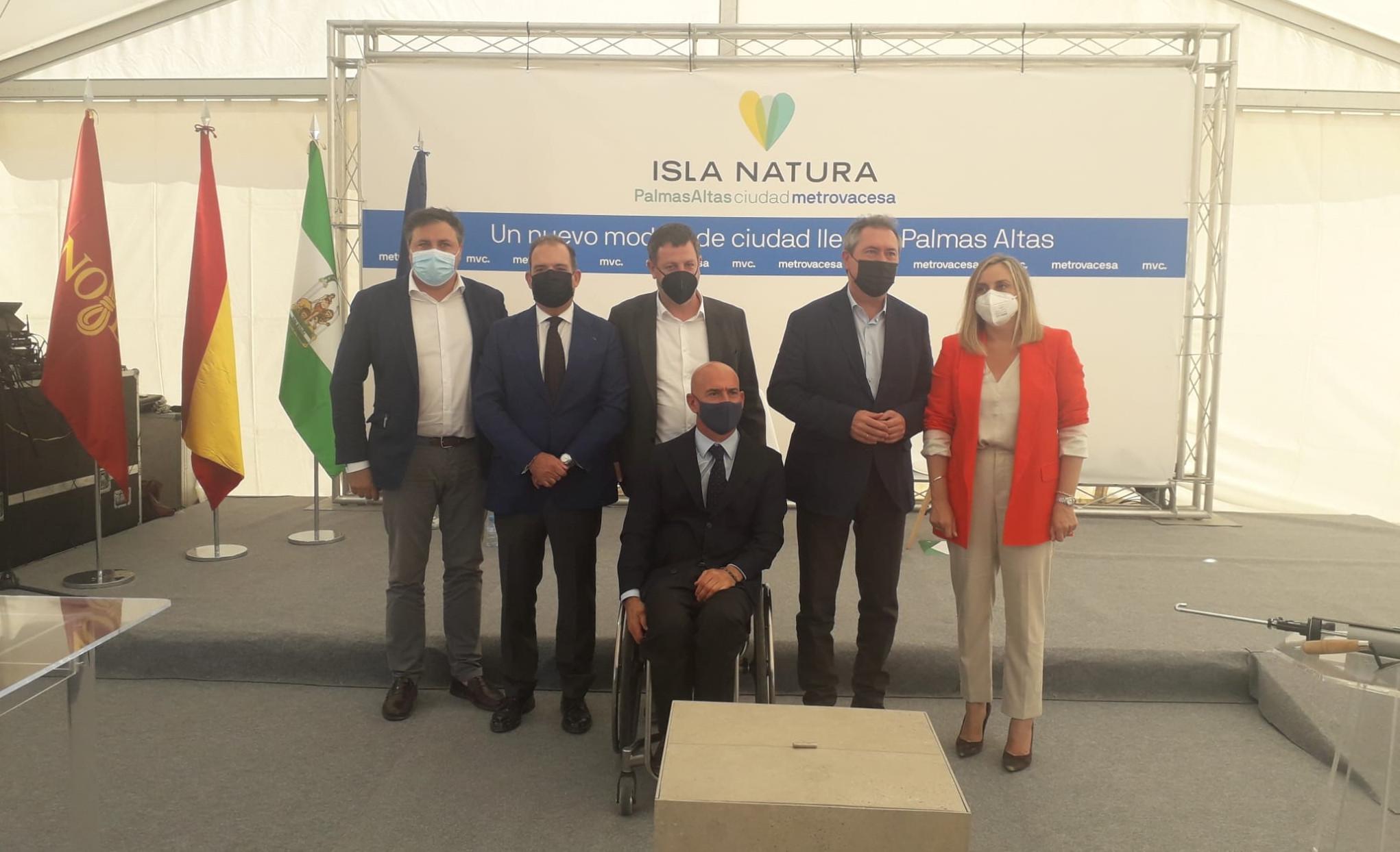 Metrovacesa inicia la construcción de Isla Natura, el nuevo barrio que albergará 2.870 viviendas en Sevilla