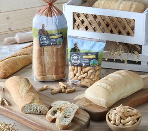 Milagros Díaz, Franjuba y Tradipan desarollan para Carrefour una innovadora gama de panes 100% espelta