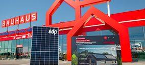 Bauhaus venderá las soluciones de EDP para autoconsumo solar