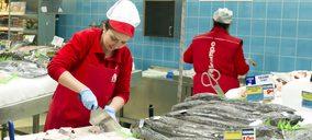 La venta de productos del mar obtiene crecimientos por encima de la media del conjunto de la alimentación
