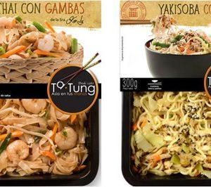 Gallo impulsa su línea de platos asiáticos Ta-Tung con nuevas inversiones