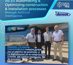 Danosa y la startup Checktobuild se alían para potenciar la digitalización en la construcción