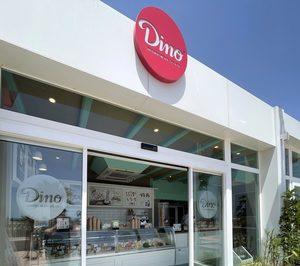 La cadena de heladerías Dino se estrena en una nueva comunidad