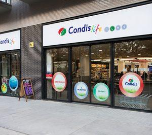 ¿Qué vende Condis en la zona centro y quién podría comprarlo?