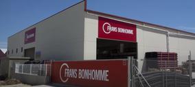 Frans Bonhomme construye dos nuevos almacenes