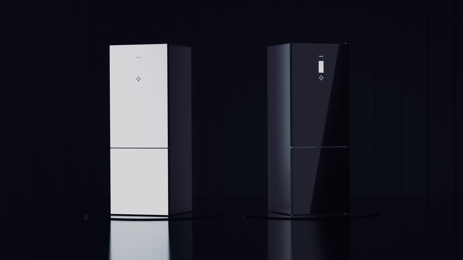Teka presenta su nueva gama de frigoríficos de cristal Combi Maestro