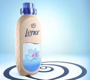 P&G desarrolla su primer proyecto piloto de botella de papel con la marca Lenor