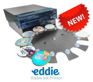 DTM Print presenta Eddie, la impresora de tinta comestible para impresión directa al alimento