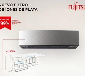 Fujitsu presenta un filtro de iones de plata para sus equipos de climatización