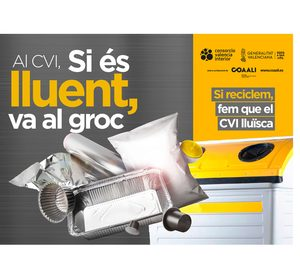 Coaali extiende el reciclaje de pequeñas piezas de aluminio a más municipios valencianos