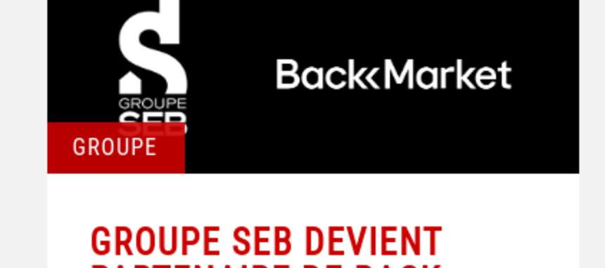 PAE reacondicionado: Groupe Seb se convierte en socio de Back Market