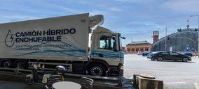 Acotral probará el primer camión híbrido enchufable en España