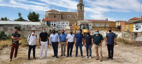 La empresa toledana GIS comienza las obras de un geriátrico privado en Tarancón