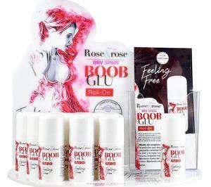 BRV Spain lanza Boob Glu, un adhesivo para el pecho en formato roll-on