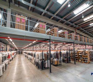 Polypal amplía la capacidad logística del grupo textil Tendam