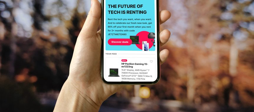 Grover, la plataforma de renting de producto tecnológico, capta 1.000 M$