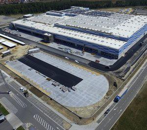 Lidl abrirá en octubre su plataforma de Nanclares de Oca