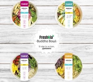 Freshkia, de Comfresh, incorpora las ensaladas veganas 'Buddha Bowl