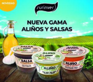 Surinver refuerza su gama de aliños y salsas, mientras sigue creciendo