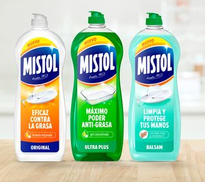 'Mistol' entra en nuevas categorías y renueva su imagen