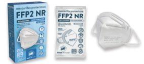 Un operador nacional inicia la fabricación de mascarillas FFP2