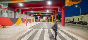 Schréder renueva la iluminación del aparcamiento del Paseo de Roma en Fuenlabrada