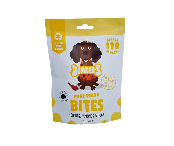 Denzel's Orange, Almonds & Duck Pure Paleo Bites for Dogs (7)