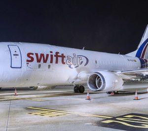 Swiftair consiguió mantener su negocio en un complicado 2020