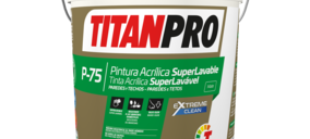 Titan lanza su nueva pintura lavable Titanpro