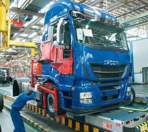 La venta de vehículos industriales se reduce un 8% en agosto