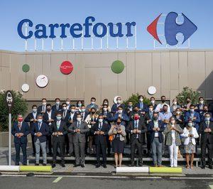 Carrefour firma un pacto sobre transición alimentaria con 50 fabricantes