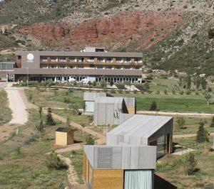 El Balneario de Ariño prepara inversiones para su ampliación y mejora energética