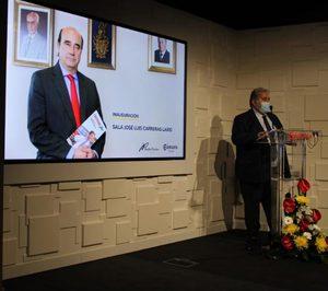 Carreras agradece a la Cámara Zaragoza el nombramiento de la sala multiusos en honor de José Luis Carreras Lario