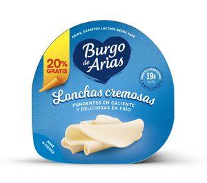 Burgo de Arias estrena formato e imagen para sus lonchas cremosas