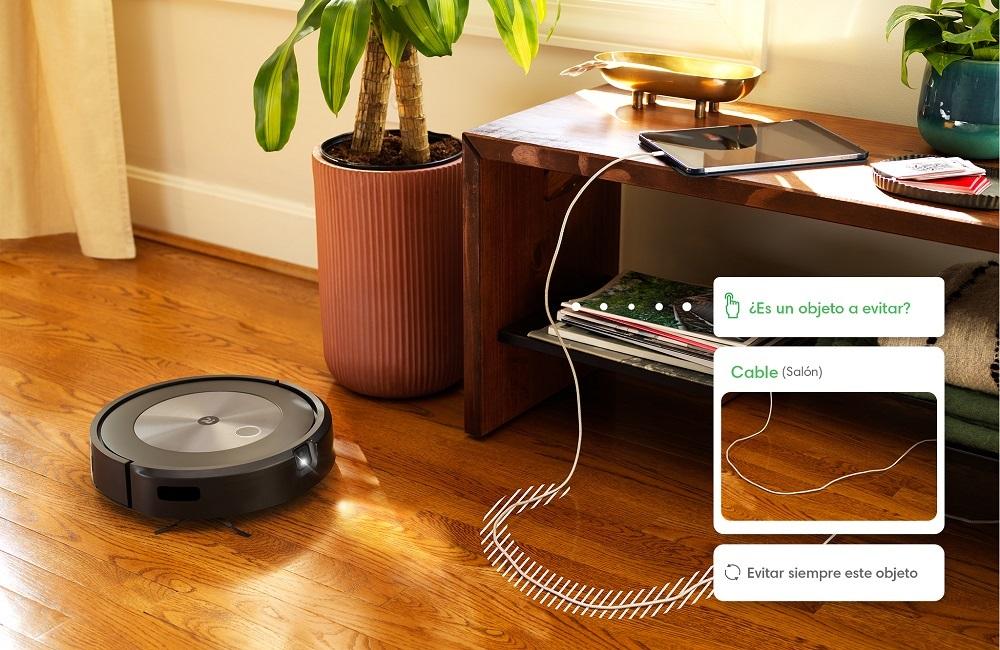 Nuevo robot aspirador Roomba j7+ con tecnología Genius 3.0