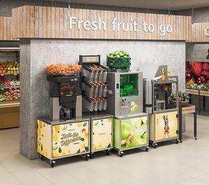 Zummo presenta nuevas máquinas para zumo de manzana y corte de piña