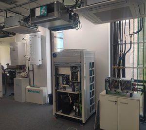 Hisense abre un espacio de formación en unidades AC para clientes y red de servicio técnico