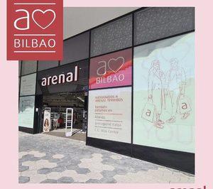 Perfumerías Arenal abre su primera tienda de 2021 en Bilbao