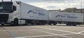 Frío Aragón acusa la falta de conductores y reduce su parque móvil