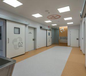 El Hospital Covadonga de Gijón concluye la reforma de su bloque quirúrgico, que ha supuesto una inversión de 1M
