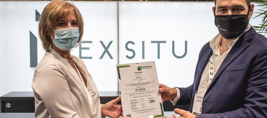 ExSitu, primera empresa española en certificarse en la norma UNE 127050:2021 de Sistemas Constructivos Industrializados