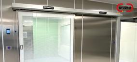 Grupsa presenta la línea de puertas para unidades de cuidados intensivos ICU System
