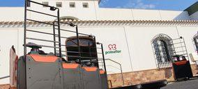 Primaflor invierte en la tecnología de litio para mejorar la sostenibilidad de sus almacenes