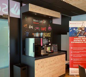 La red de Work Café de Banco Santander abre 36 nuevos puntos