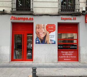 El drive peatonal de Alcampo es también el primer supermercado sin efectivo de España