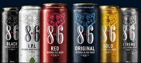 Swinkels cuenta con un ambicioso plan de expansión para su gama de cervezas '8.6'